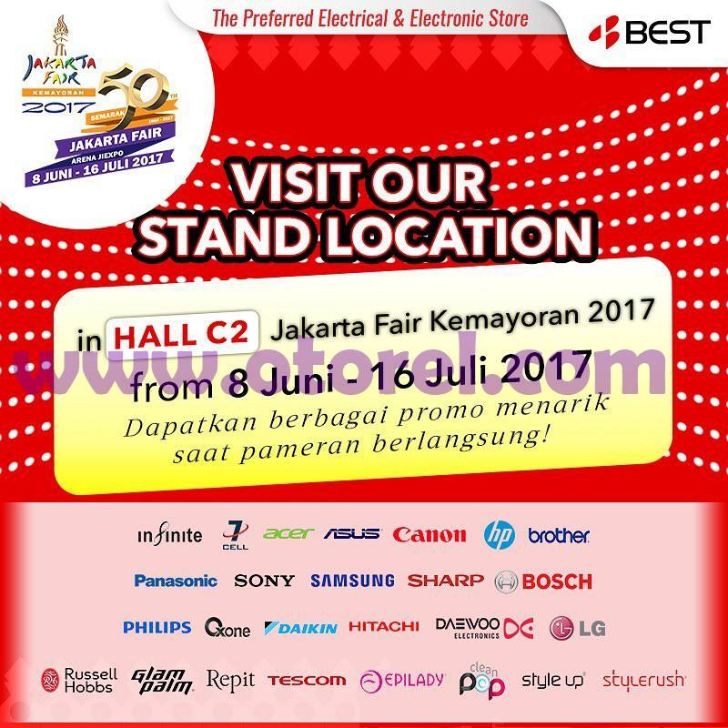 BEST DENKI Promo Pameran Jakarta Fair Hingga 16 Juli 2017
