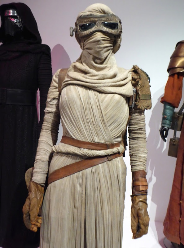 Star Wars Force Awakens Rey film costume