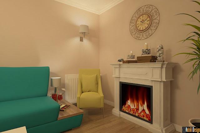 Amenajari interioare case clasice - Design interior casa de lux Bucuresti