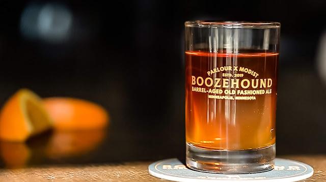 Modist Brewin & Parlour Bar Announce Release of Boozehound Barrel Aged Old Fashioned Ale