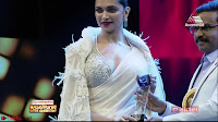 Deepika Padukone in Elegant White Saree and Choli at an award Function  Exclusive Pics 003.jpeg