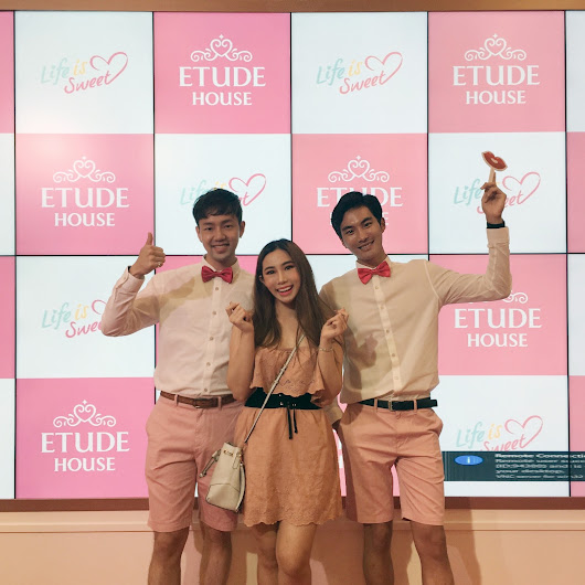 Get Your Very Own Customized Lipstick at Etude House's FIRST FLAGSHIP STORE Grand Opening in Sunway Pyramid, Malaysia!