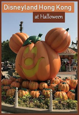 Disneyland Hong Kong at Halloween