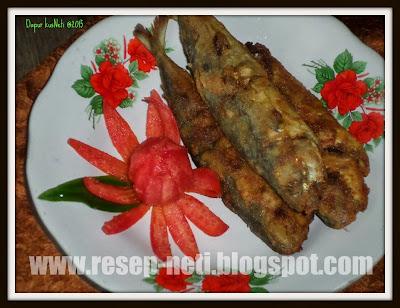 Resep ikan sarden goreng rempah di dapur kusNeti @2015