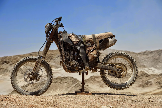 Motorcycle from Mad Max 5