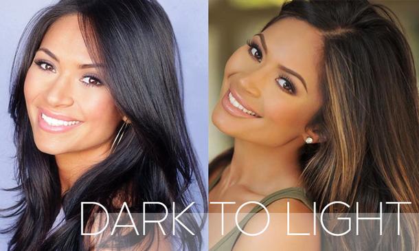 How To Lighten Dark Hair At Home Hair Fashion Online