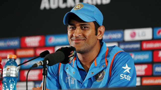 MS Dhoni Make Some Fun to Media In Press Conference