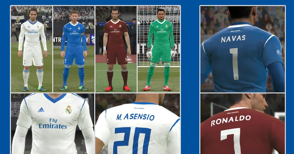 81fcbc6c42a PES 2017 Real Madrid Fantasy Kits By EzLam Ahmd