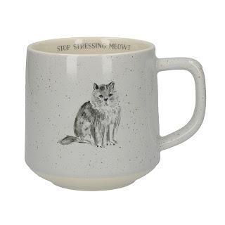 Cana pisica Stop Stressing Meowt comanda aici
