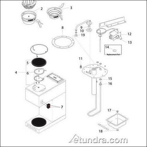Daily Tools: Bunn Vpr Series Coffee Maker Parts