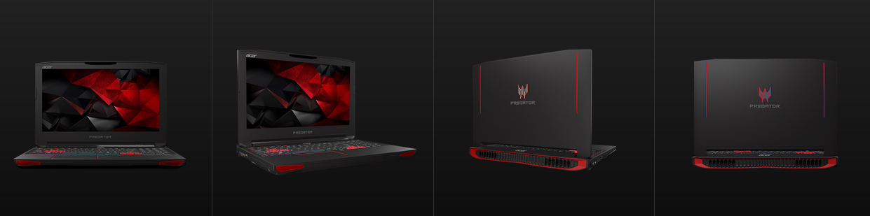 Acer Predator 17, Laptop Gaming Layar 17 Inci