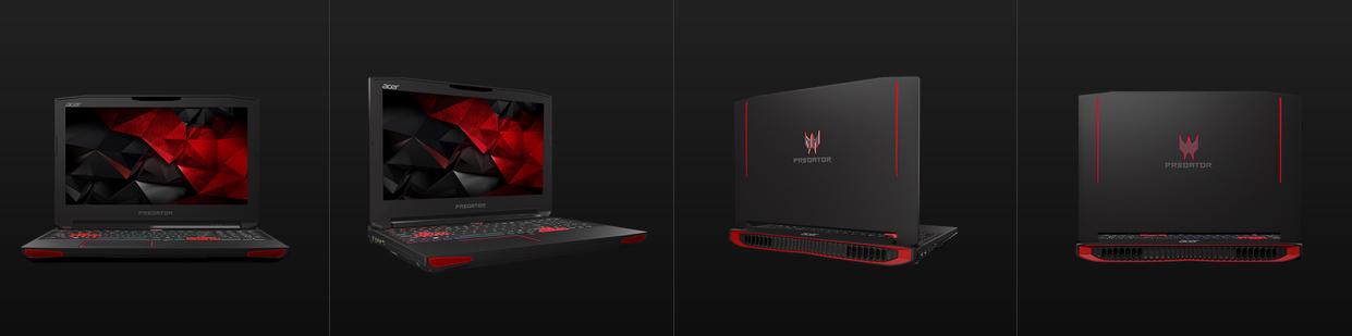 Acer Predator 17, Laptop Gaming Layar 17 Inci