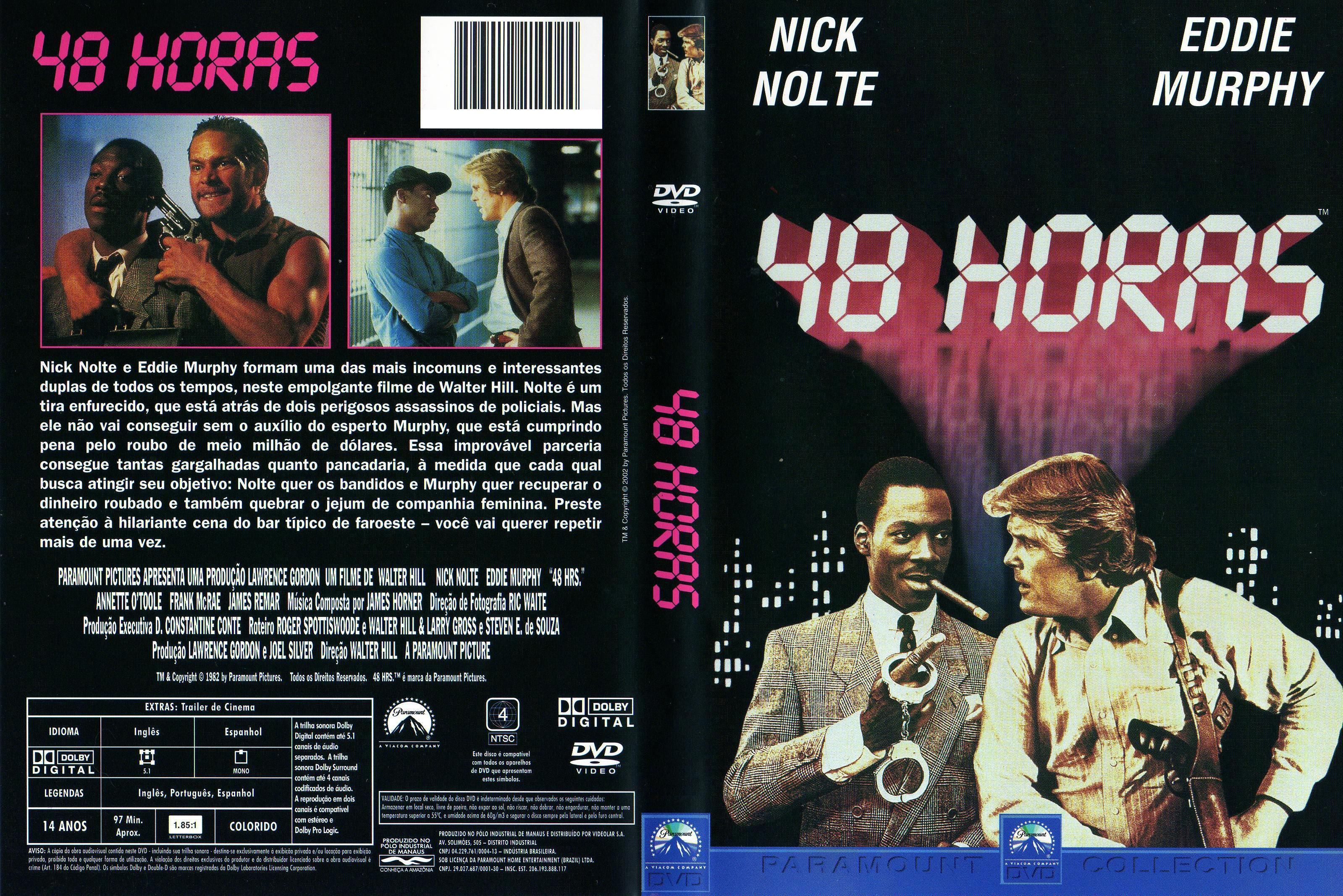 Capa DVD 48 Horas