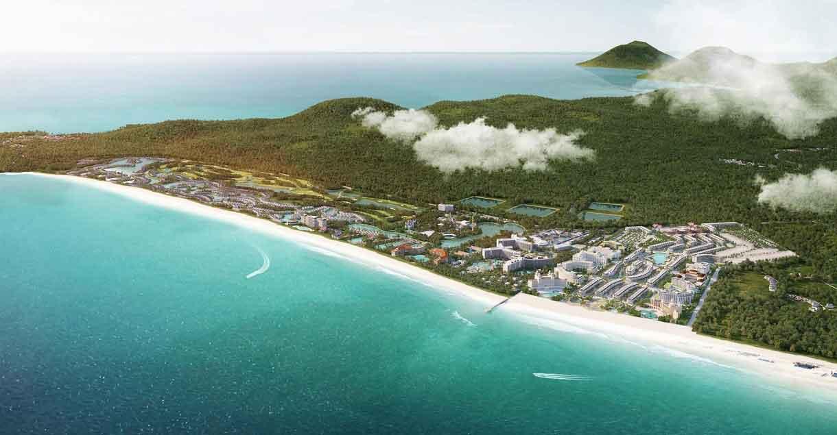 Tổ hợp nghỉ dưỡng Grand World kỳ vọng góp phần tăng lượng khách đến Phú Quốc