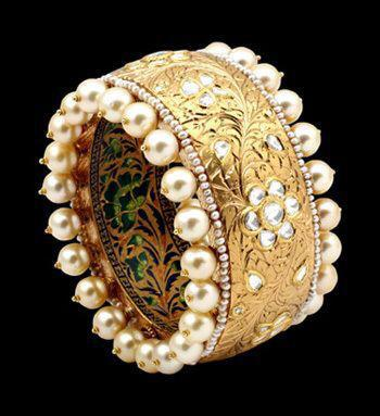 Broad Antique Kada Designs
