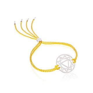 Daisy London  Solar Plexus Friendship Bracelet