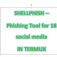 SHELLPHISH - Phishing Tool for 18 social media (over internet) using
