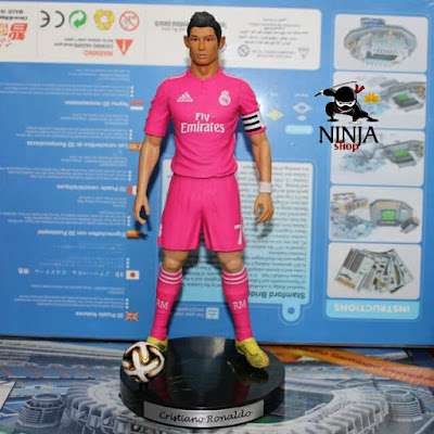 Mô hình cầu thủ Cristiano Ronaldo