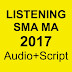 Listening UN 2017 SMA (Transcript & Audio)