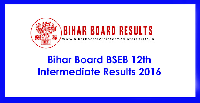 Bihar Board Intermediate Results 2016
