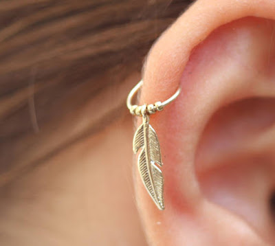 Tiny Hoop Earring