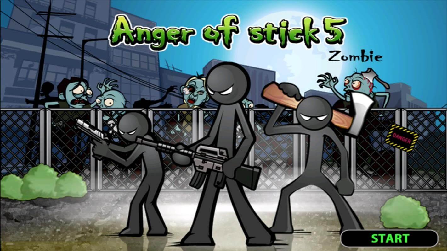 Anger of stick 5 Zombie MOD DINHEIRO INFINITO 1.1.34