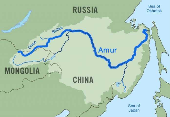 Amur – Argun, Asia