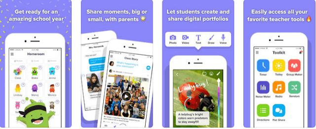تطبيق ClassDojo اجمل تطبيقات الاجهزة الذكية في التعليم