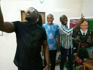 Nollywood Actor, Jim Iyke Visits Nnamdi Kanu (See Photos) 3