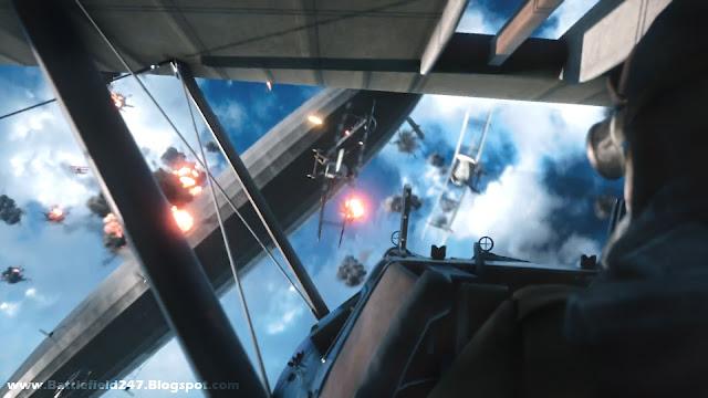 Battlefield 1 - Biplane Game Footage