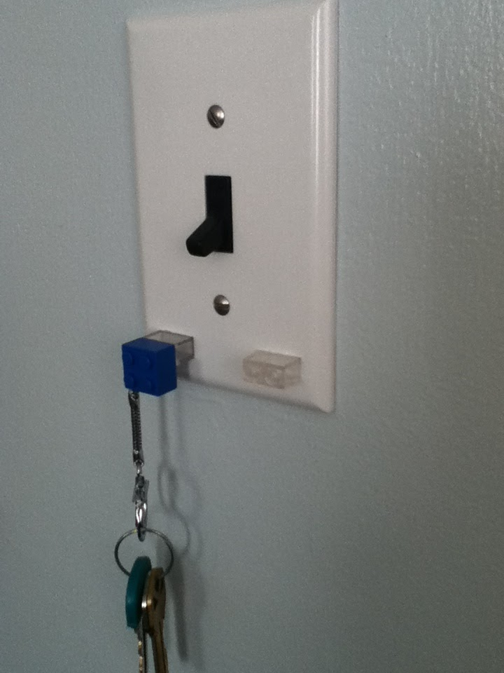 Upcycle Us: upcycling lego into key holder...