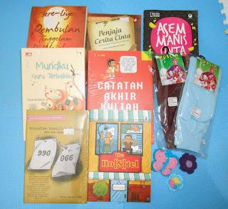 koleksi buku demi mini library idaman