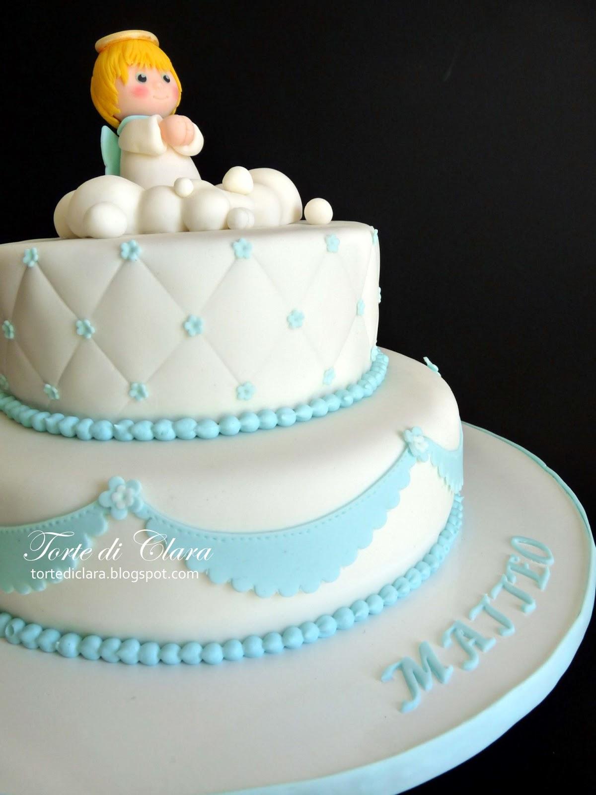 Amato Torte di Clara: Torta Battesimo ZP26