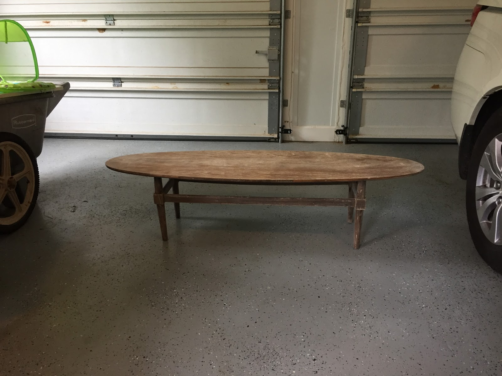 Very Very Vicky Sassy Surfboard Coffee Table
