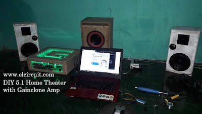 DIY Home Theater Amplifier Gainclone