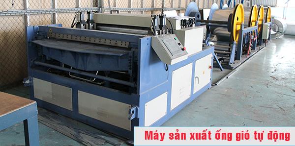 Máy sản xuất ống gió tự động