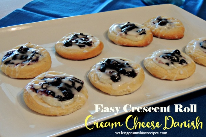 Easy cream cheese blueberry danish breakfast recipe blueberry cream cheese danish is an easy recipe to make for breakfast this weekend from walking forumfinder Gallery