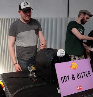 Søren Parker Wagner fra Dry & Bitter på Copenhagen Beer Celebration 2016