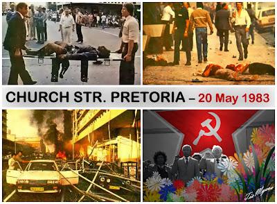 CHURCH STREET BOMBING - PRETORIA, SOUTH AFRICA (1983)