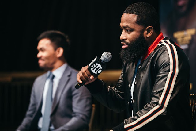 "Adrien Broner Explodes On Manny Pacquiao : ""F*** the money, Beating You Ass"""