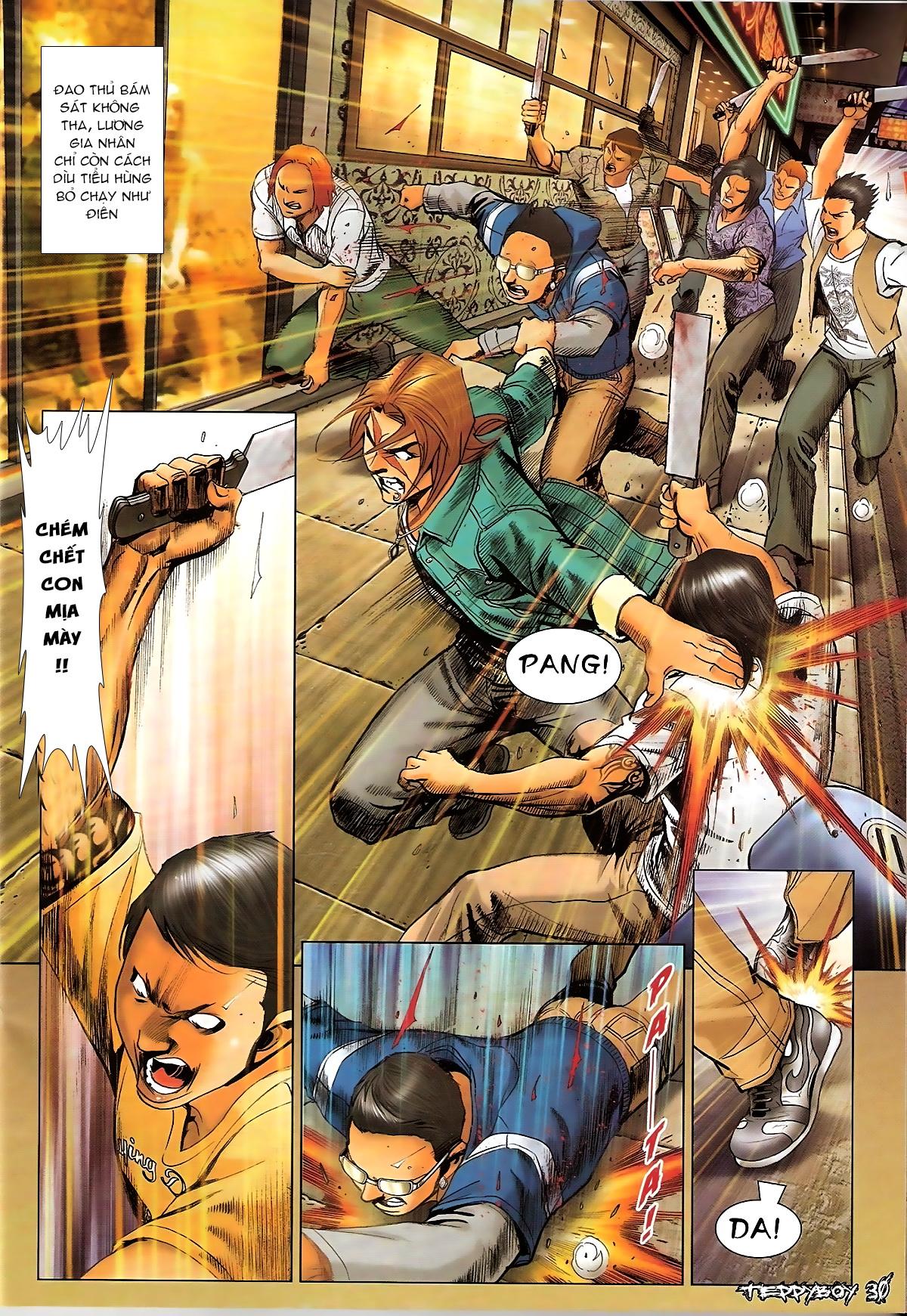 Người Trong Giang Hồ - Chapter 1326: Nộ trảm Lương Gia Nhân - Pic 27