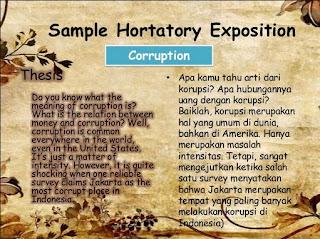 Google Image - Hortatory Exposition About Corruption Dalam Bahasa Inggris Dan Artinya