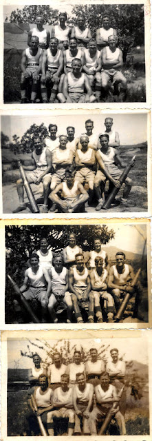 "Battery 164 ""B"" Troop Gunners, 59th Regiment RA HAA WW2"