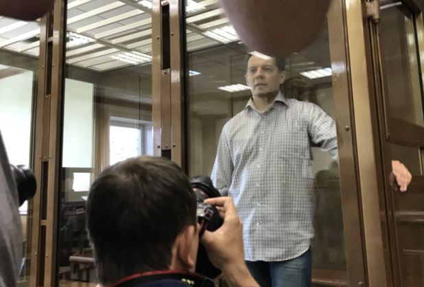 У Росії суд засудив українця Сущенка до 12 років в'язниці