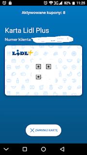 cyfrowa karta Lidl Plus