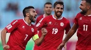 التعادل الشلبي ينهي لقاء لبنان وكوريا الشمالية في تصفيات آسيا المؤهلة لكأس العالم 2022