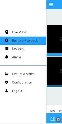 Cara melihat playback rekaman cctv UVR SPC di HP