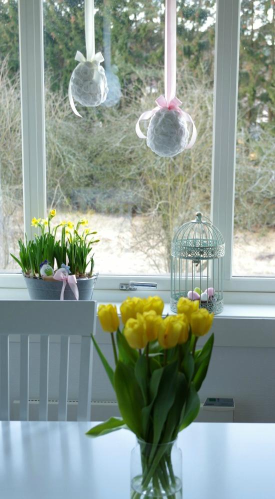 dekoracje jajka styropianowe