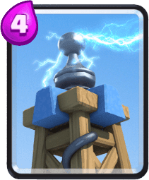 Carta Tesla Oculta de Clash Royale - Cards Wiki