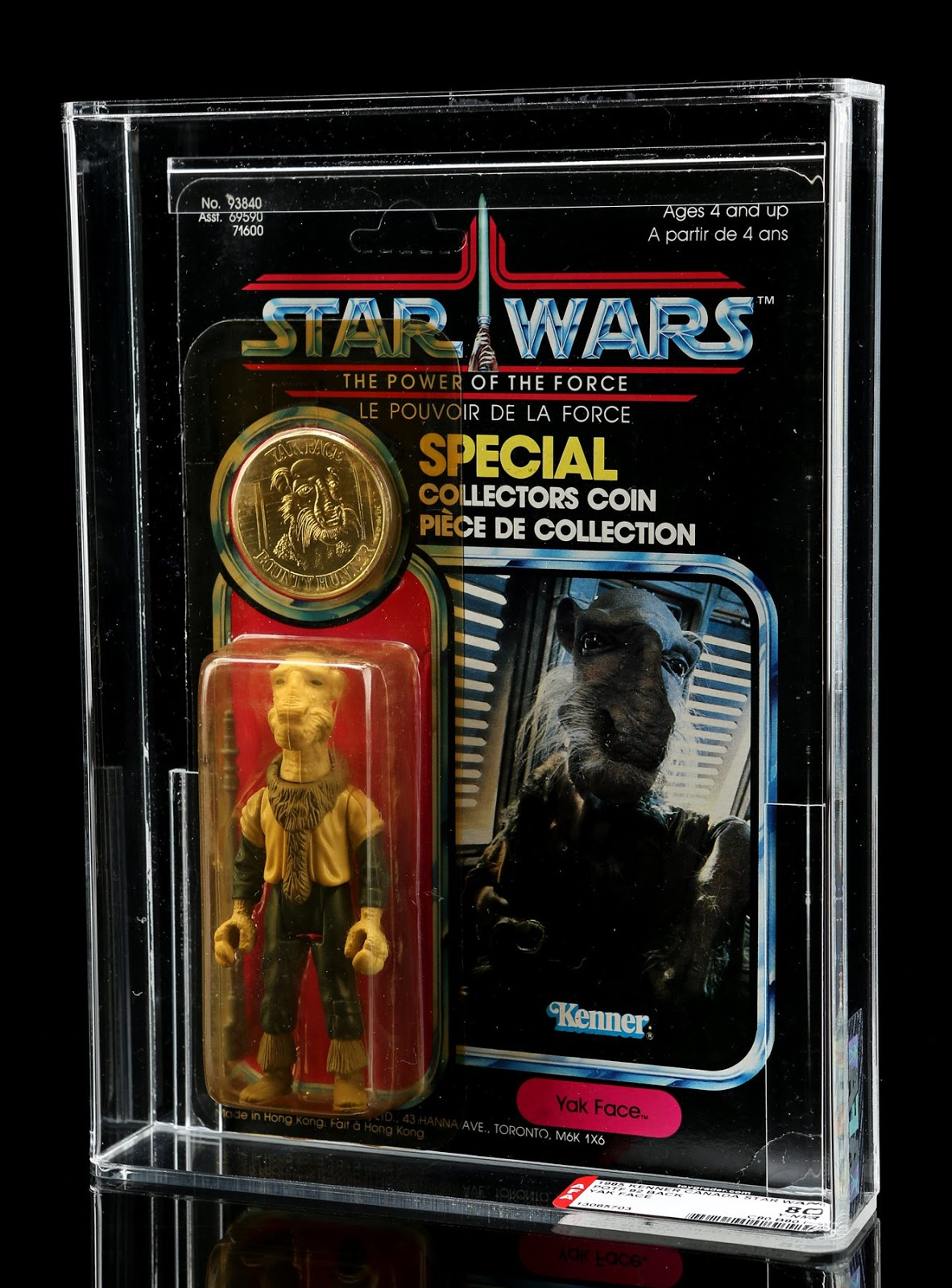 Graded Yak Face Action Figure (Star Wars 1978)